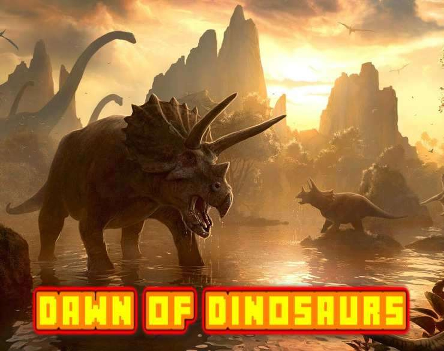 The Dawn Of The Dinosaurs Online Slot Demo Game by 888 Gaming