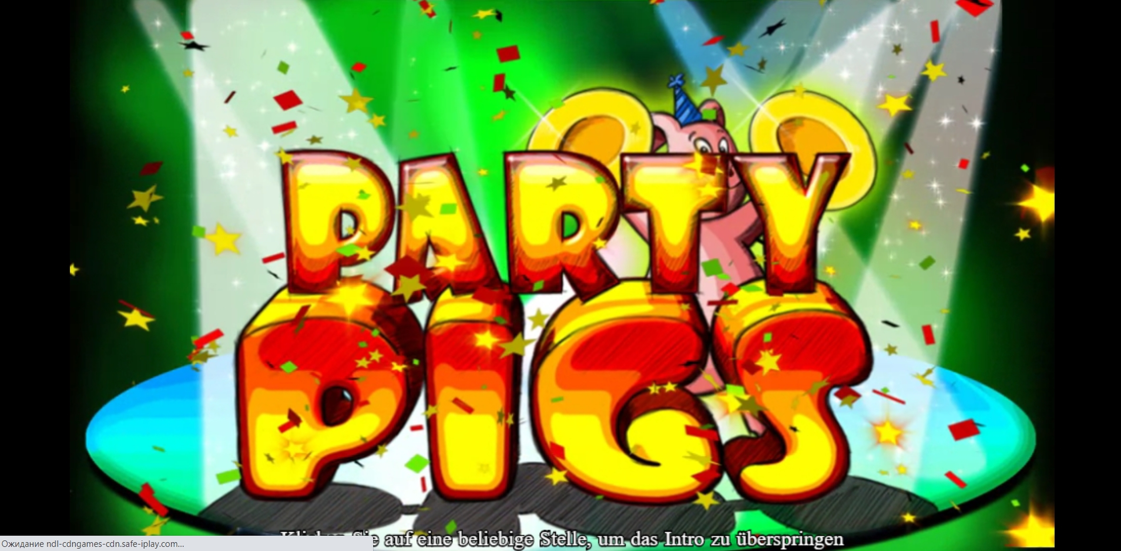 Play Party Pigs Free Casino Slot Game by 888 Gaming