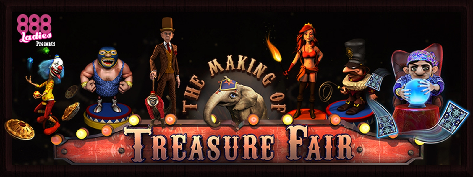 The Treasure Fair Online Slot Demo Game by 888 Gaming