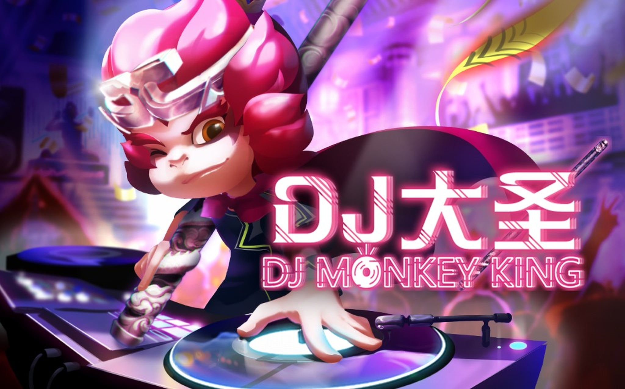 The DJ Monkey King Online Slot Demo Game by AllWaySpin