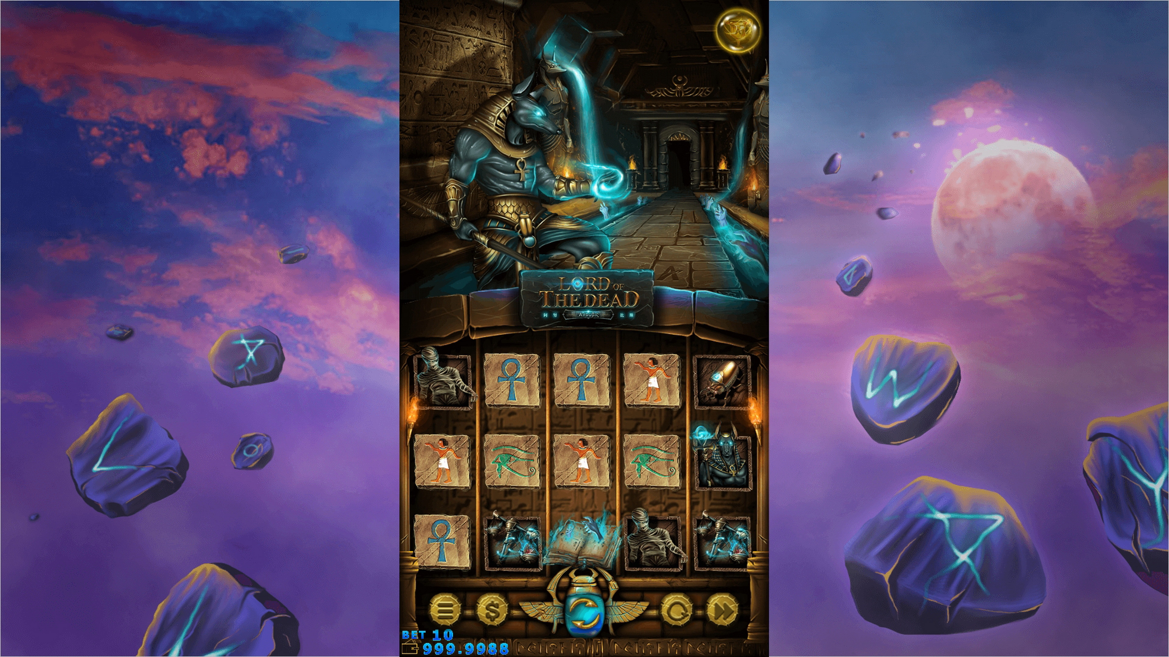 Reels in Lord of the Dead Slot Game by AllWaySpin
