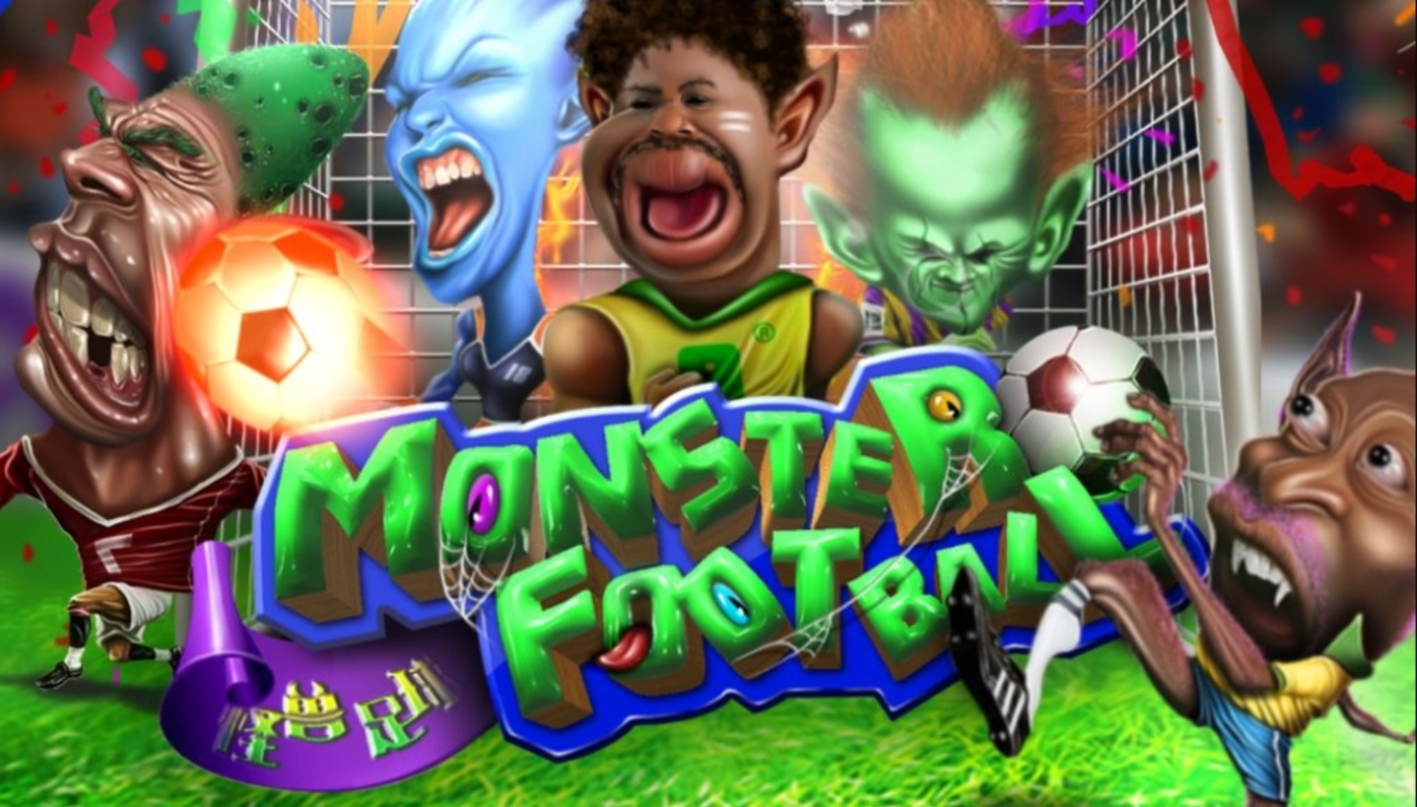 The Monster Football Online Slot Demo Game by AllWaySpin