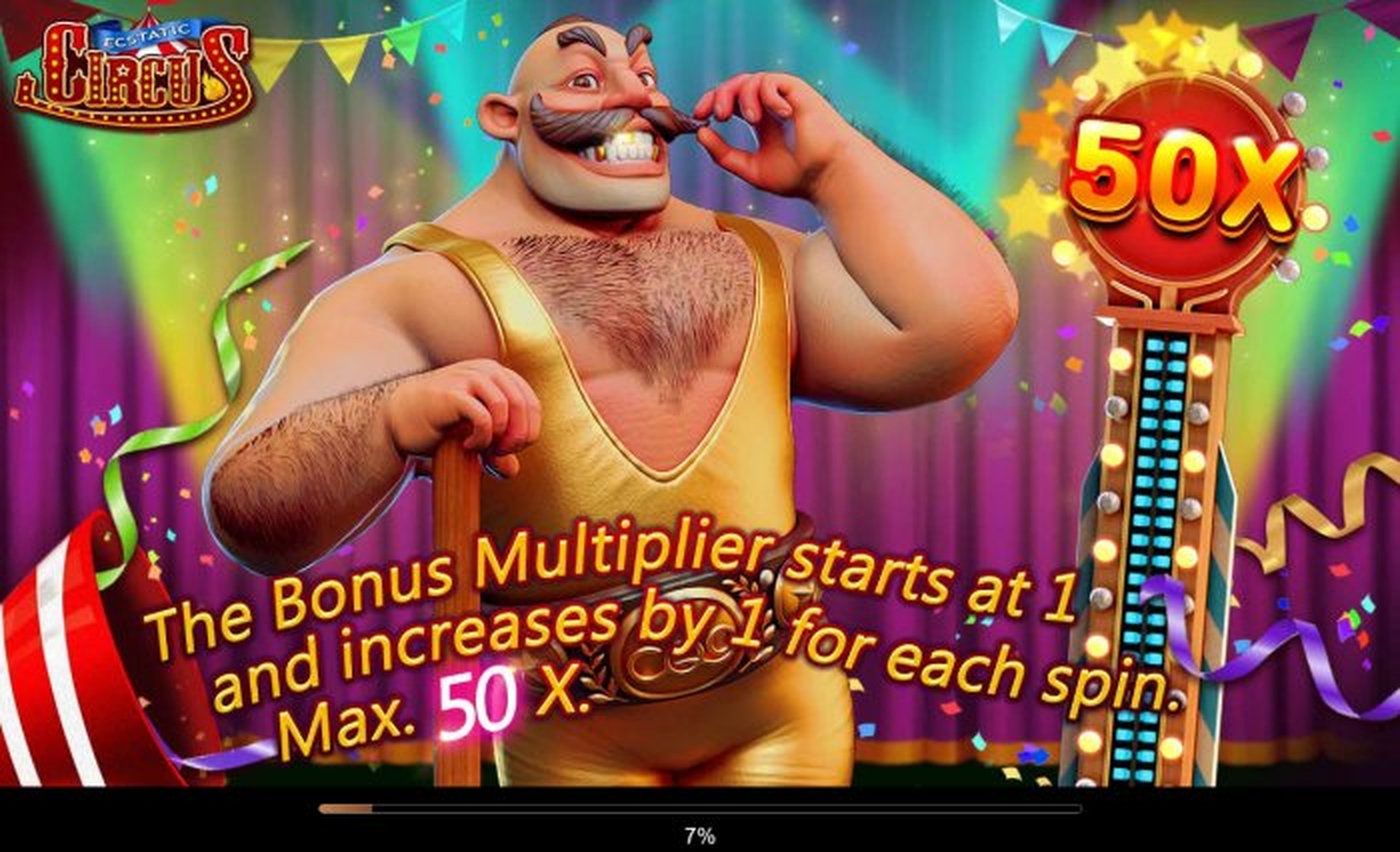 The Ecstatic Circus Online Slot Demo Game by CQ9Gaming