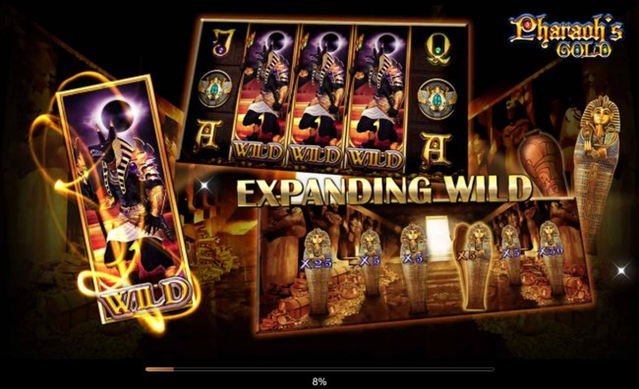 The Pharaohs Gold (CQ9 Gaming) Online Slot Demo Game by CQ9Gaming