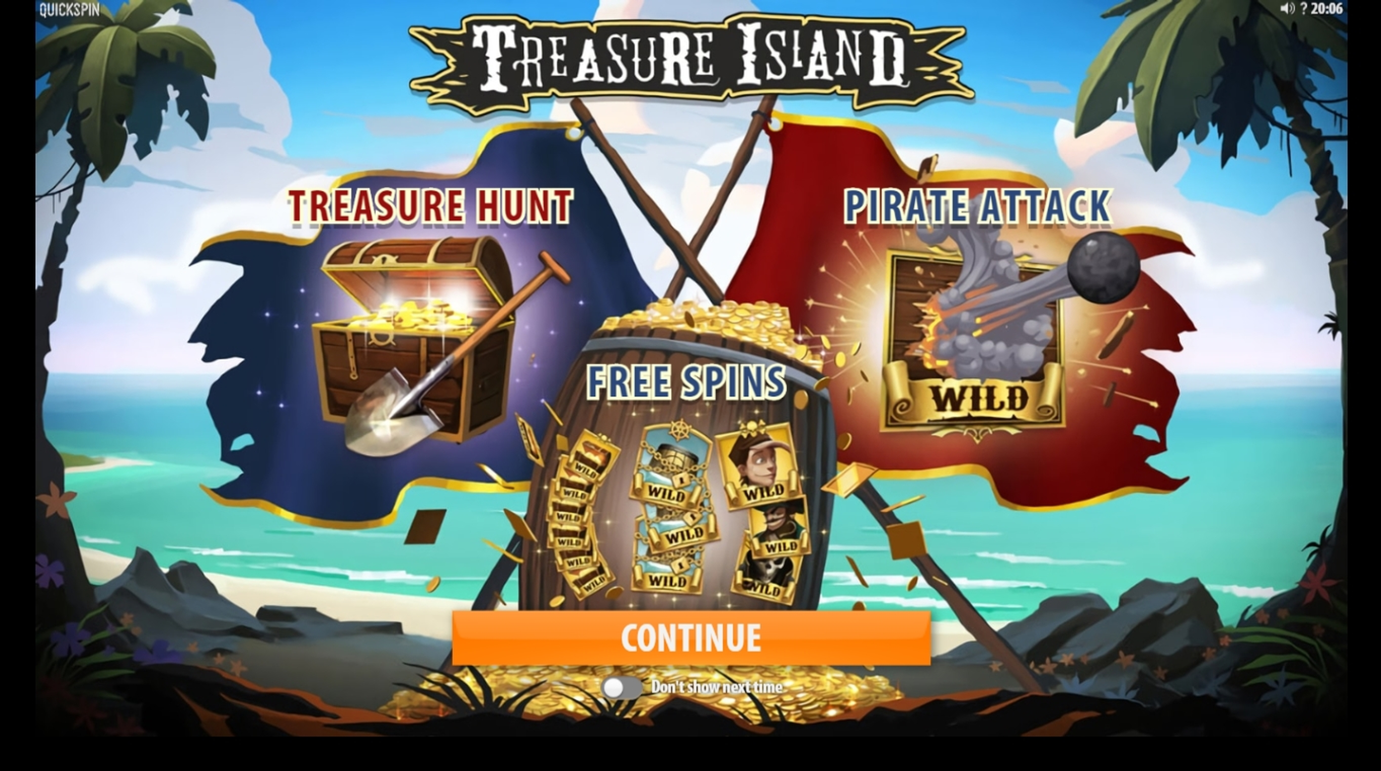 Play Treasure Island (CQ9Gaming) Free Casino Slot Game by CQ9Gaming