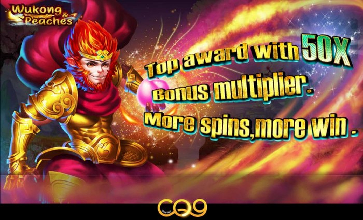 The Wukong Peaches Online Slot Demo Game by CQ9Gaming