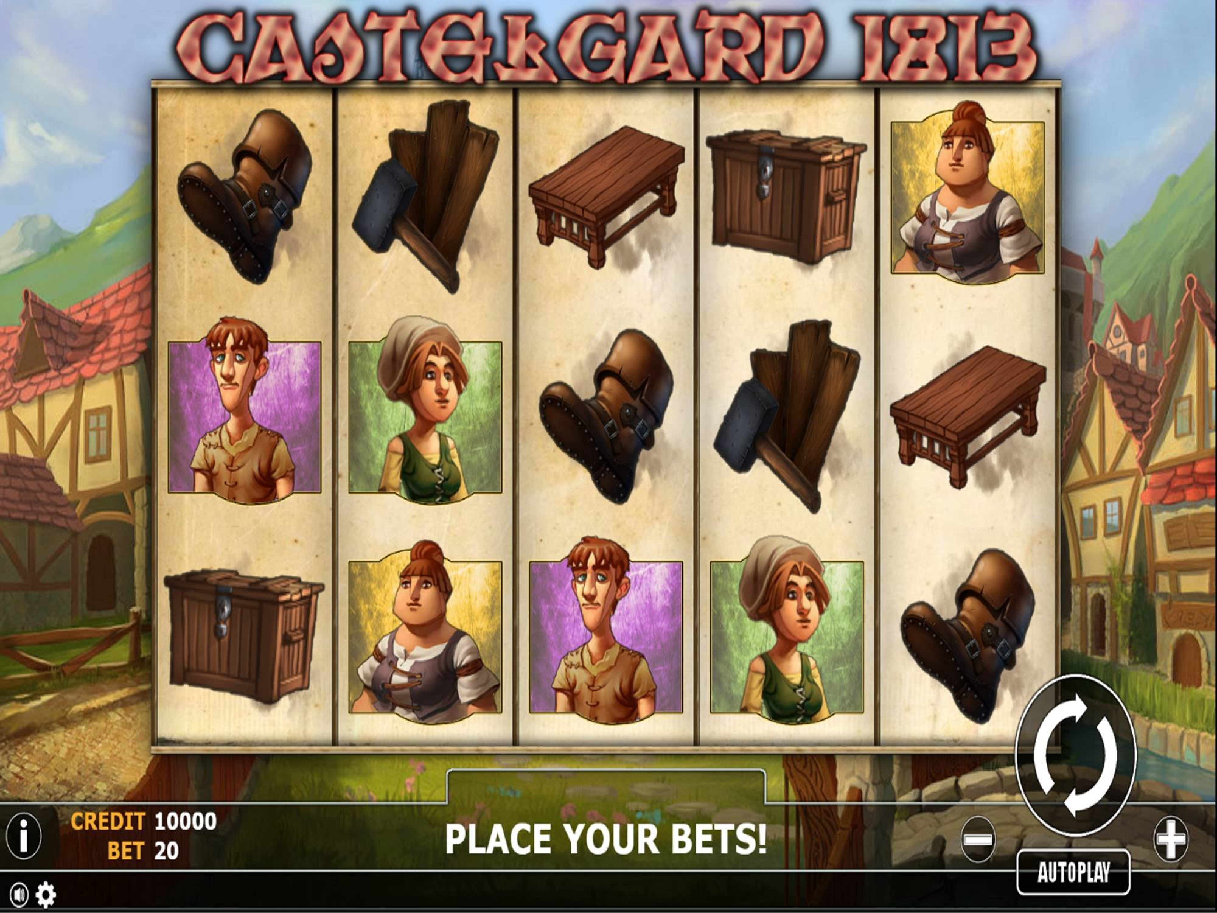 The Castlegard 1813 Online Slot Demo Game by Fils Game