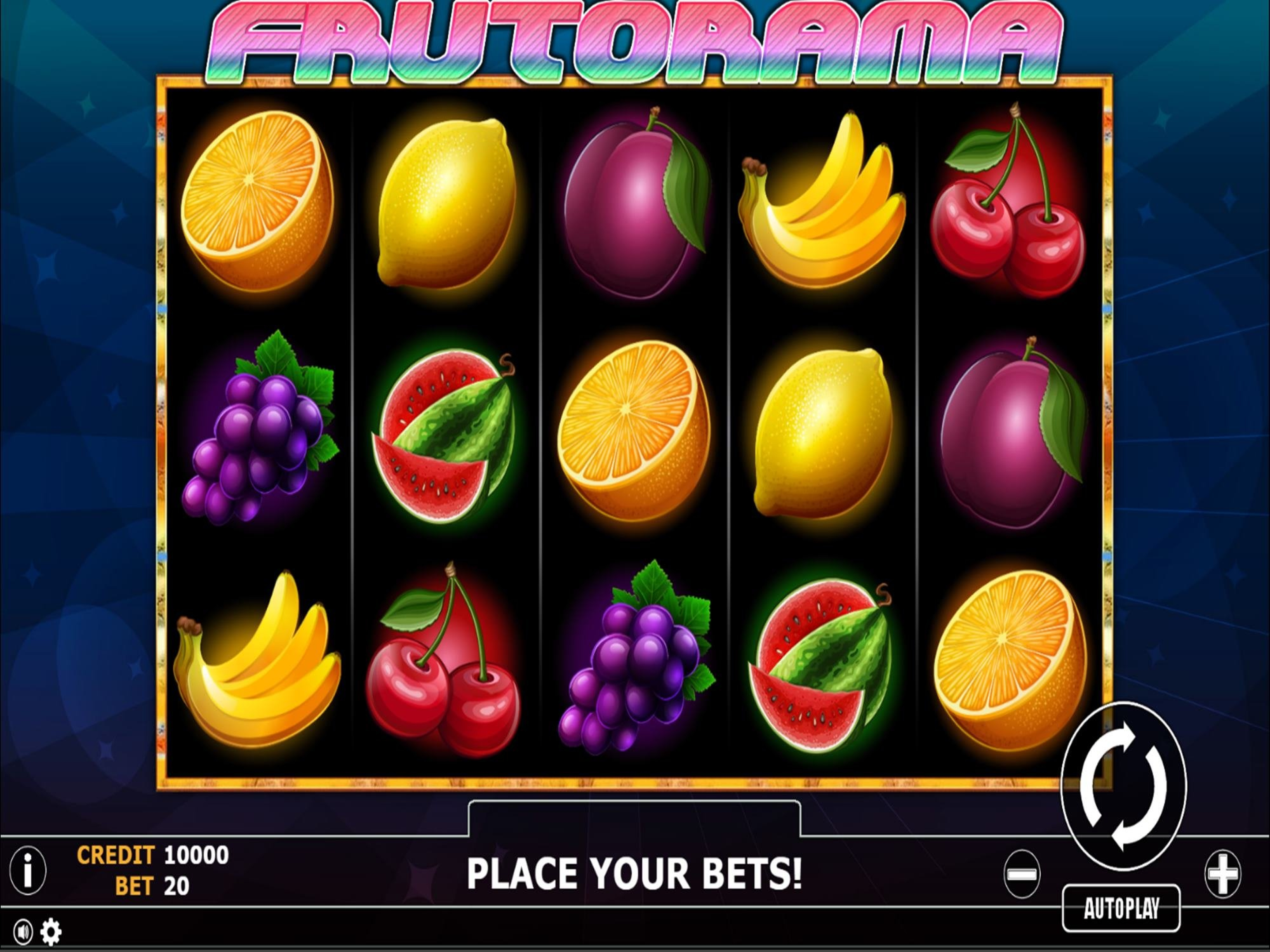 The Frutorama Online Slot Demo Game by Fils Game
