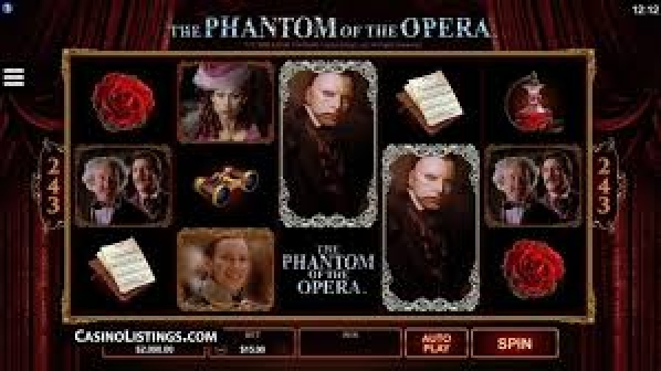 The Phantom of Opera Online Slot Demo Game by Fils Game