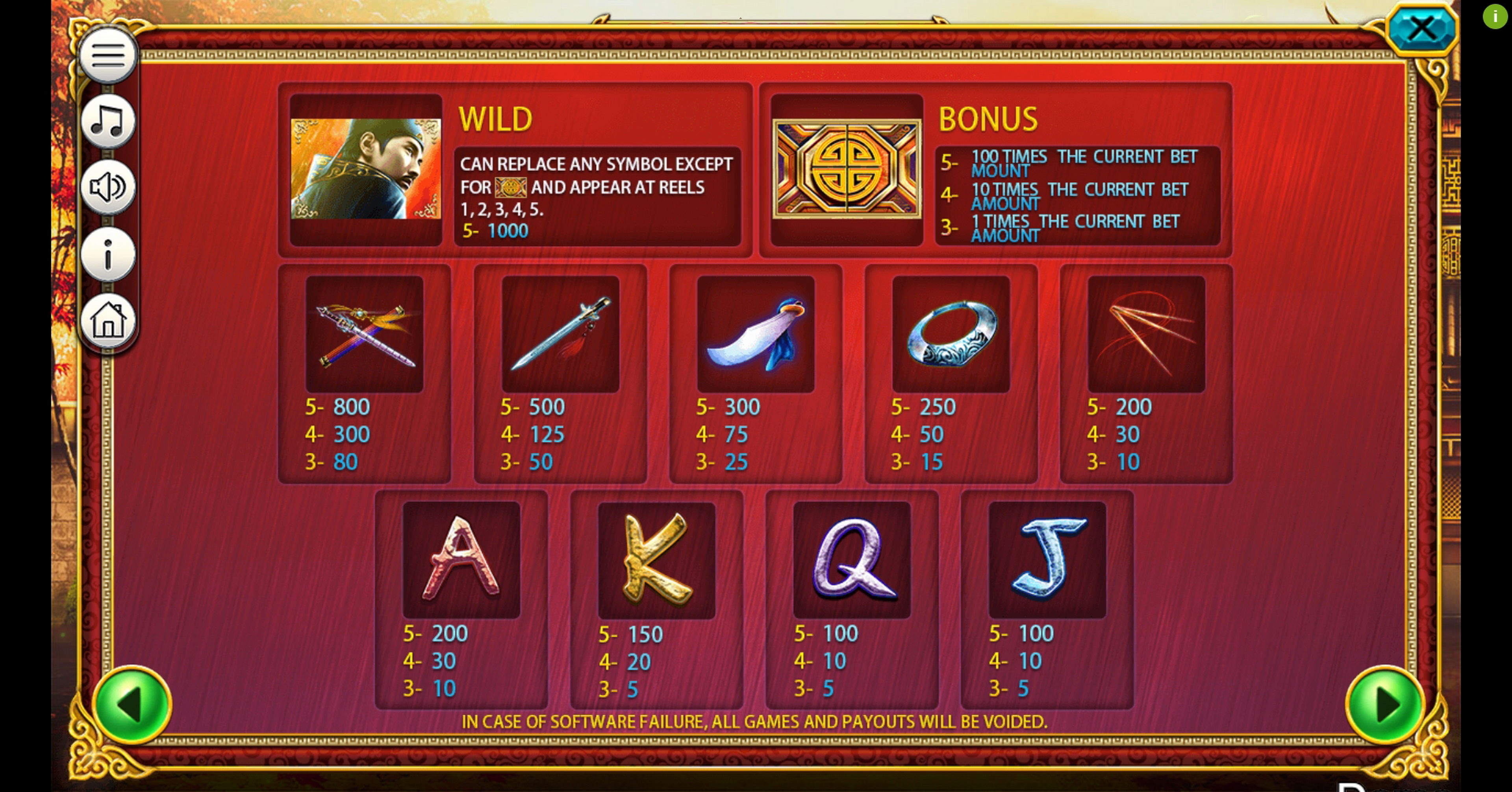 Info of Detective Dee (Iconic Gaming) Slot Game by Iconic Gaming