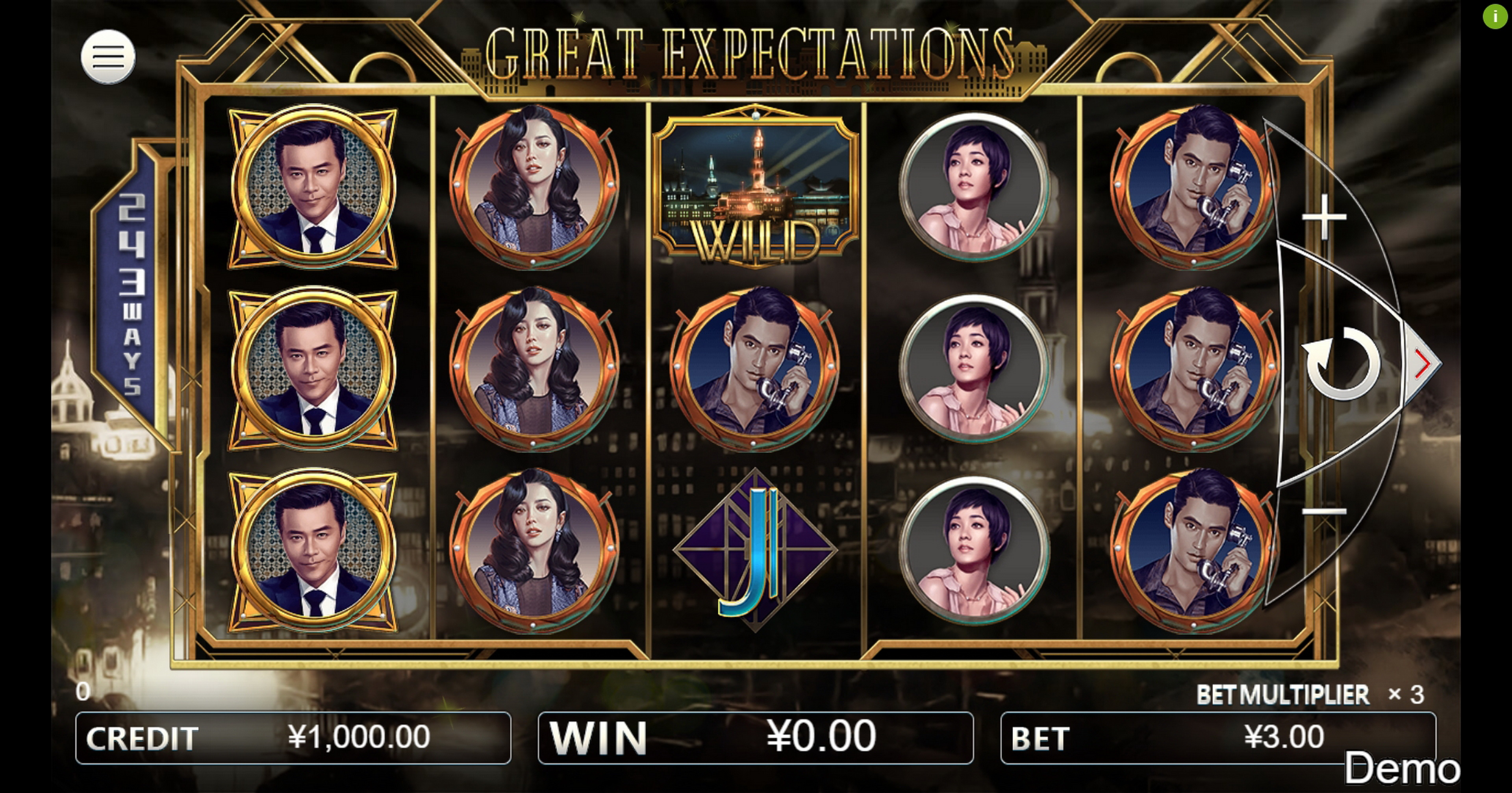 Reels in Great Expectations Slot Game by Iconic Gaming