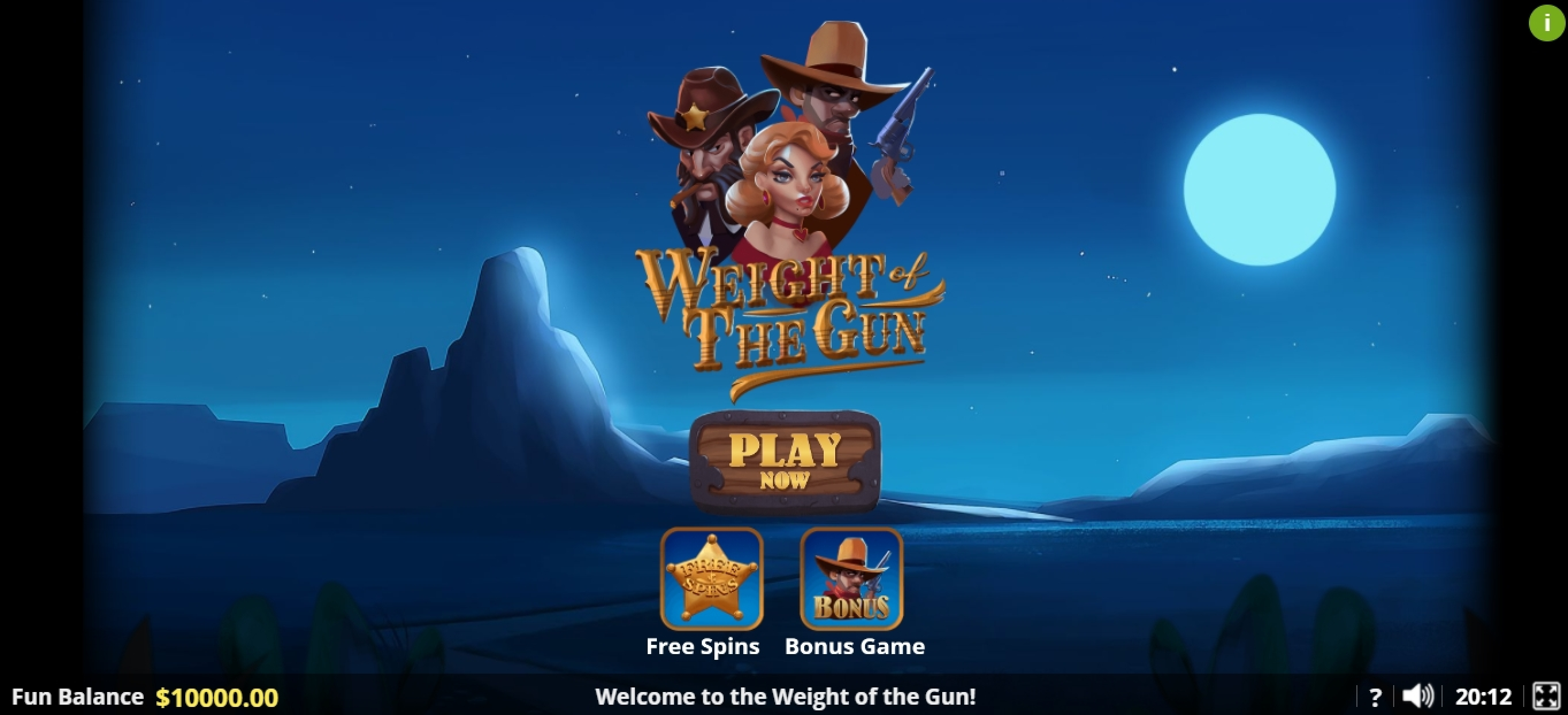 Play Weight of the Gun Free Casino Slot Game by Lady Luck Games