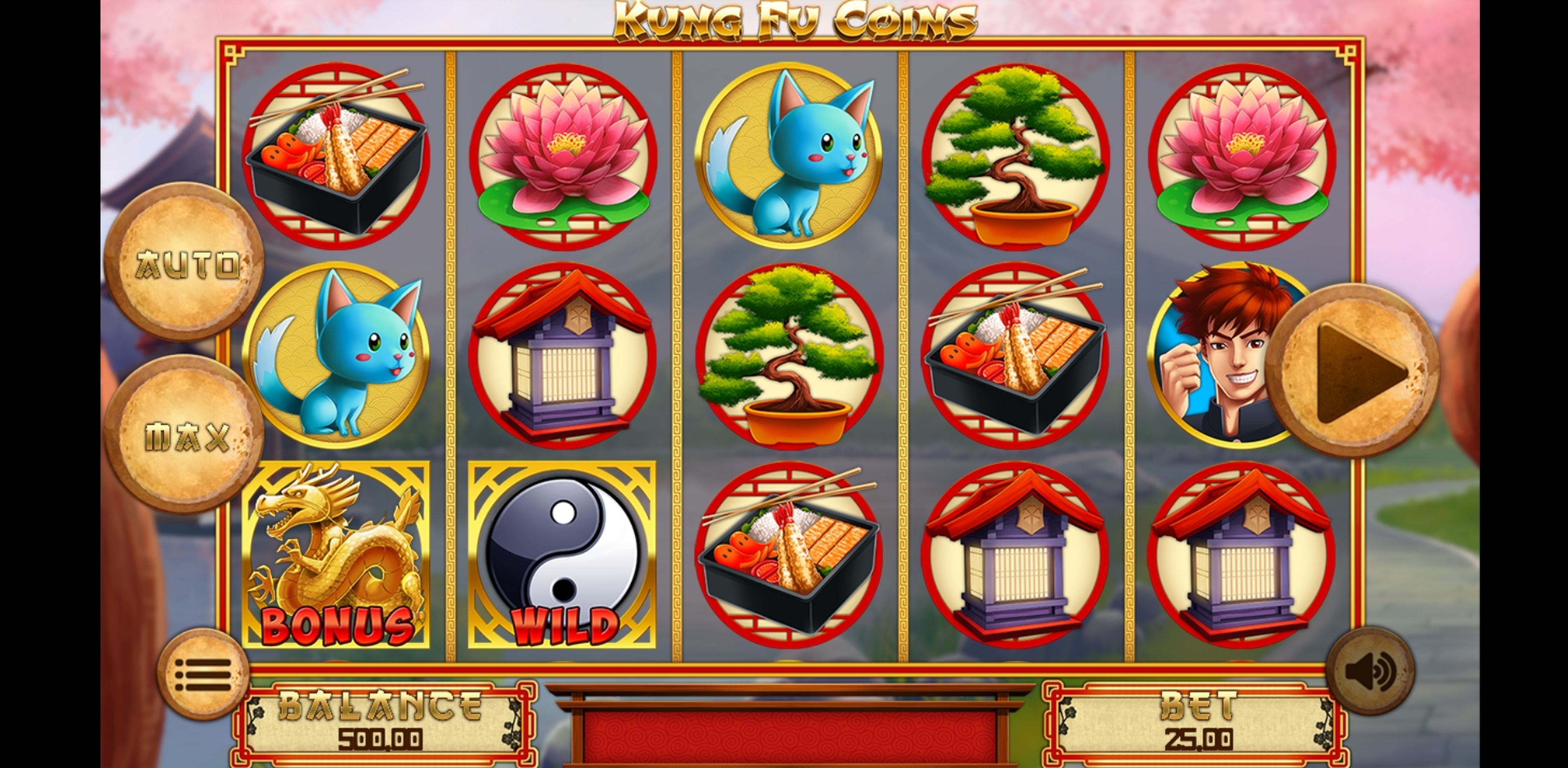 Reels in Kung Fu Coins Slot Game by Magma
