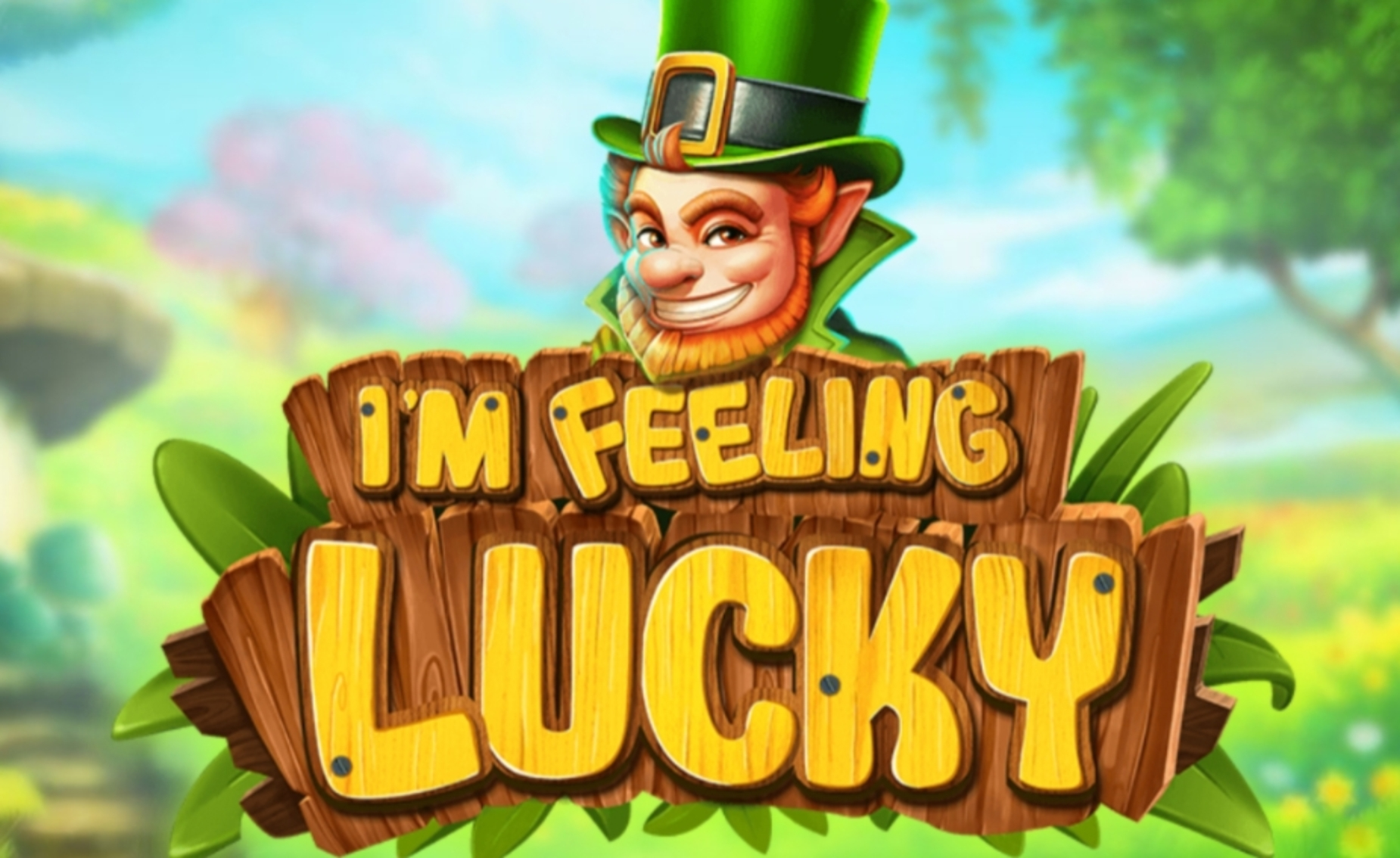 Reels in Im feeling Lucky Slot Game by Rocksalt Interactive