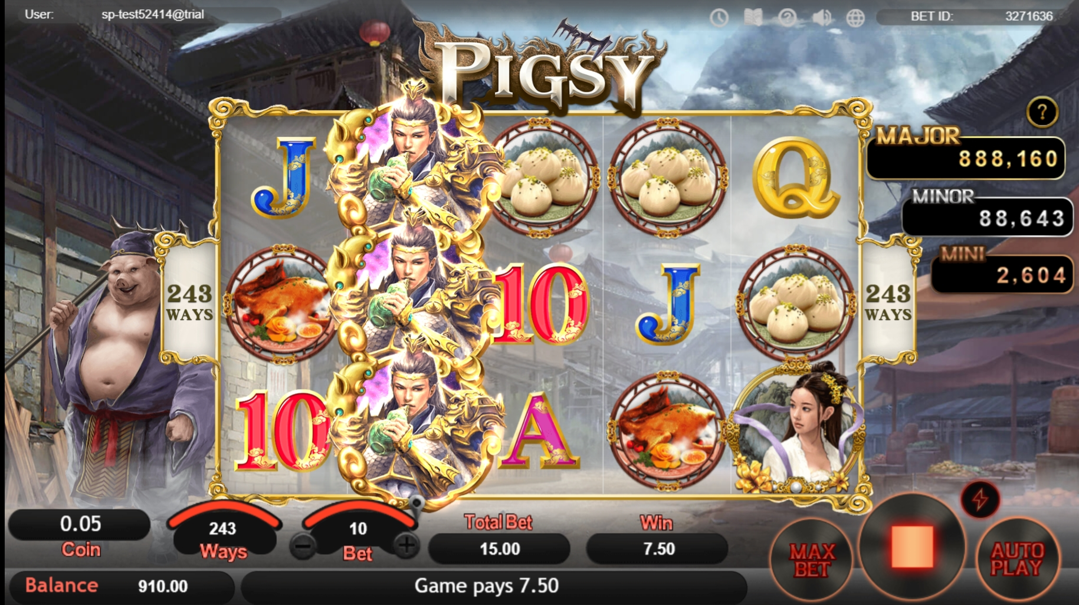 Win Money in Pigsy Free Slot Game by SimplePlay