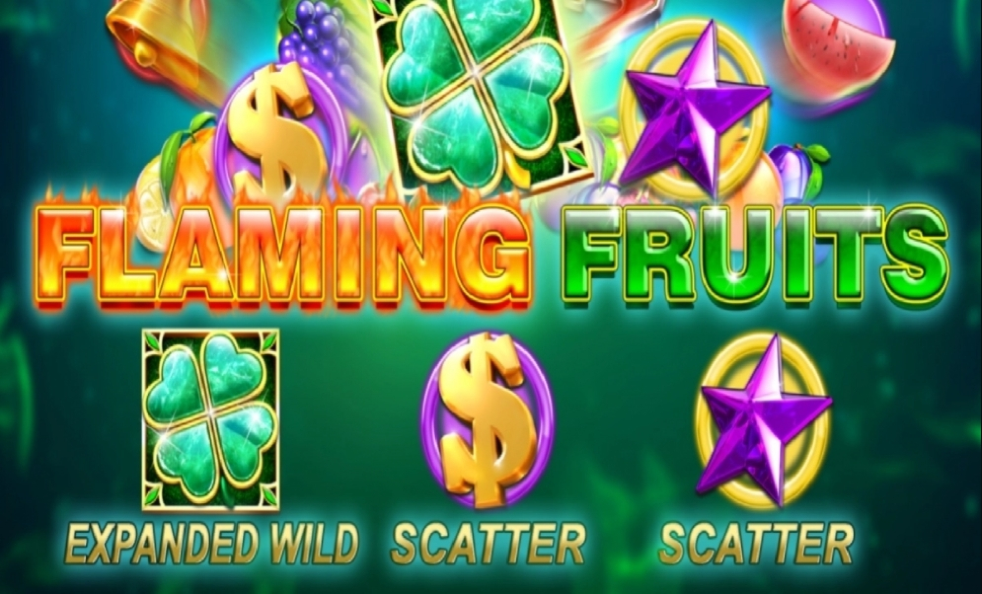 The Flaming Fruits (SlotVision) Online Slot Demo Game by SlotVision