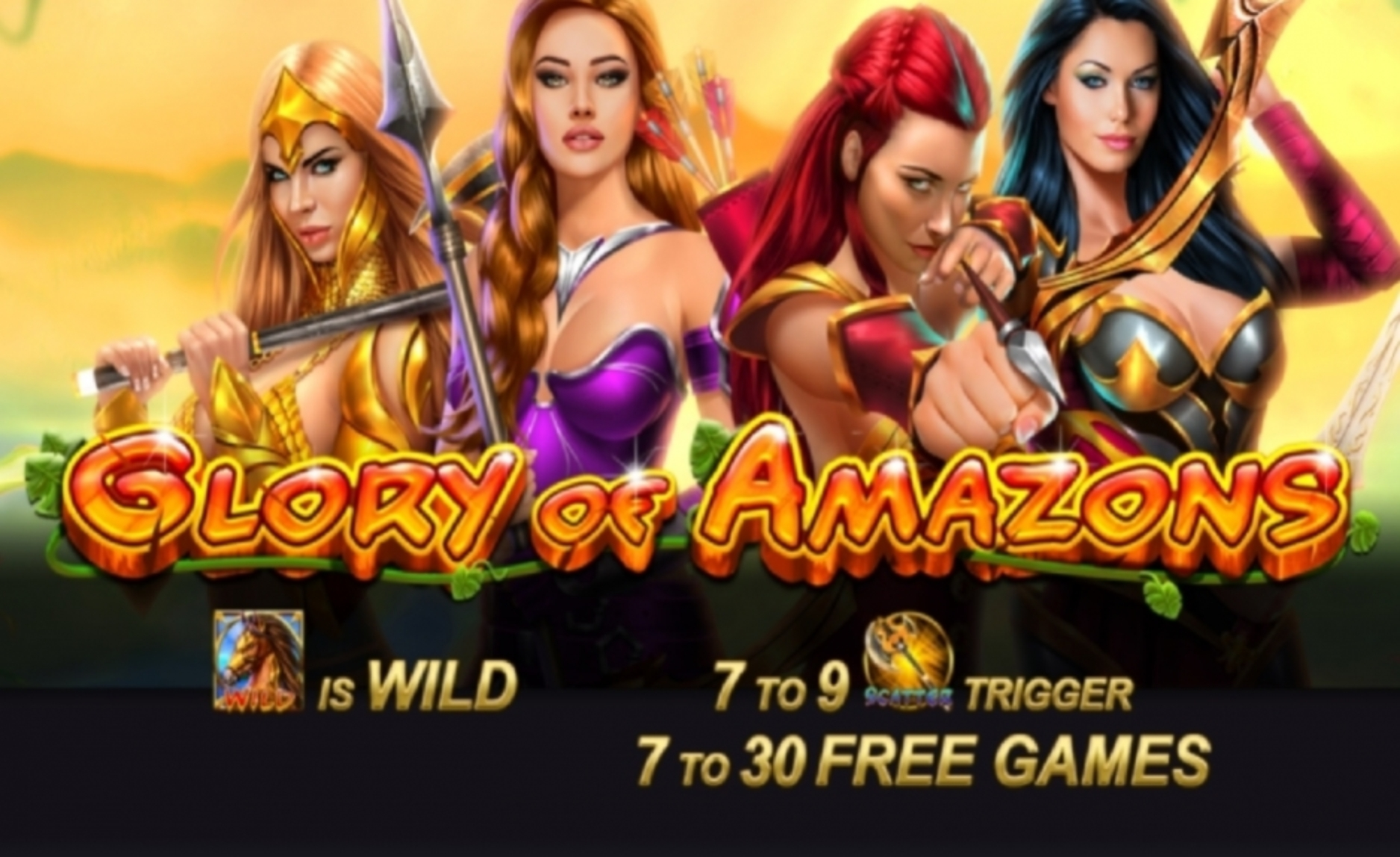 The Glory Of Amazons Online Slot Demo Game by SlotVision