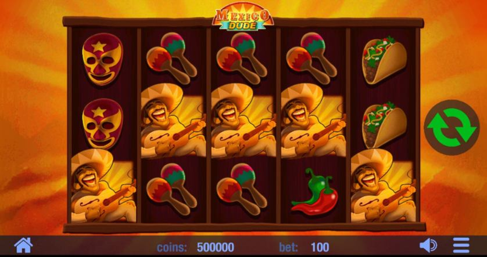 Win Money in Mexico Dude Free Slot Game by Swintt