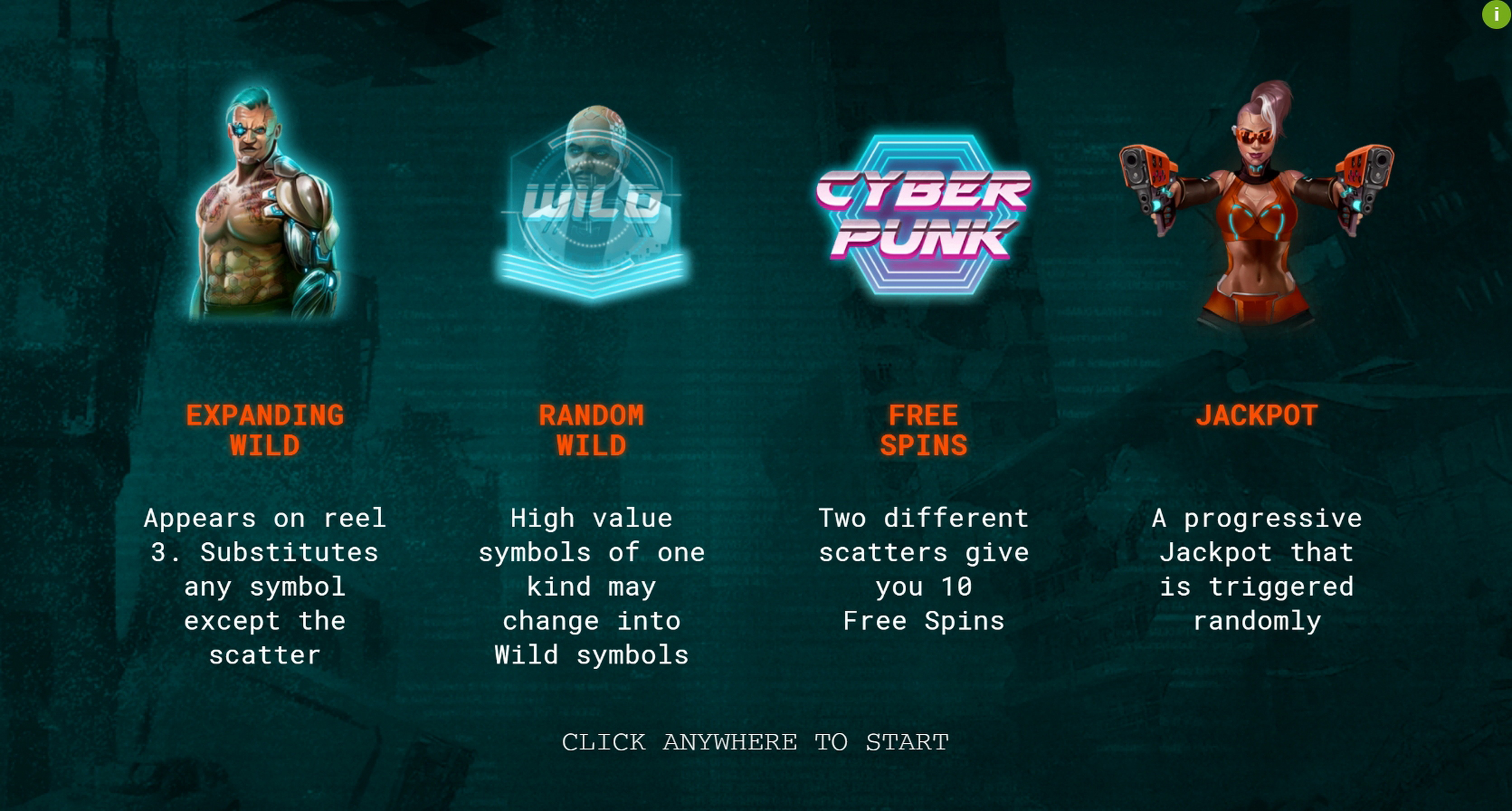 Play Cyberpunk Wars Free Casino Slot Game by Woohoo