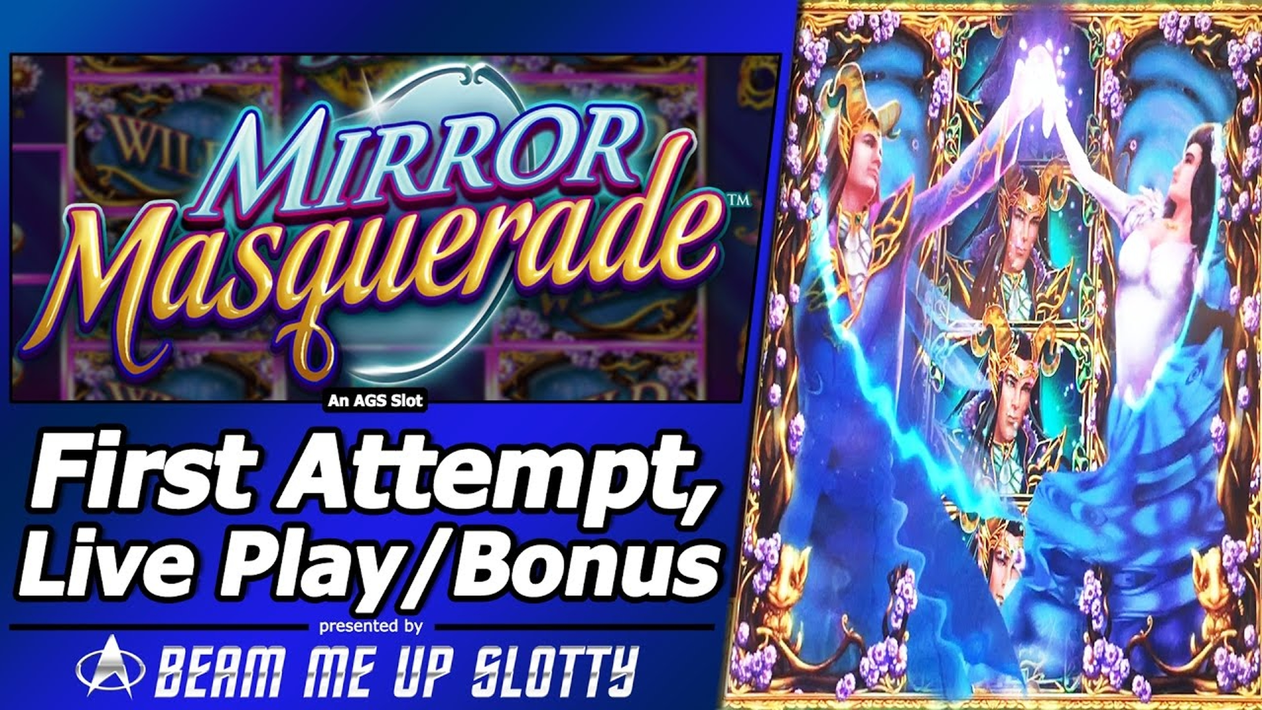 The Mirror Masquerade Online Slot Demo Game by AGS