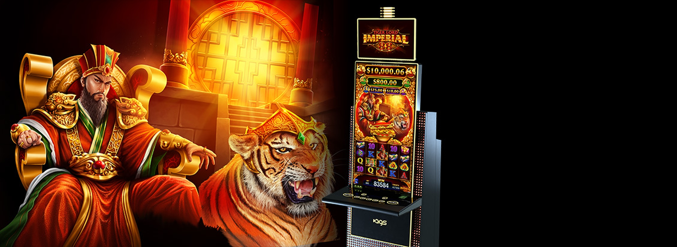 The Tiger Magic Online Slot Demo Game by AGS