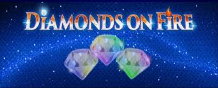 The Diamonds On Fire Online Slot Demo Game by Amatic Industries