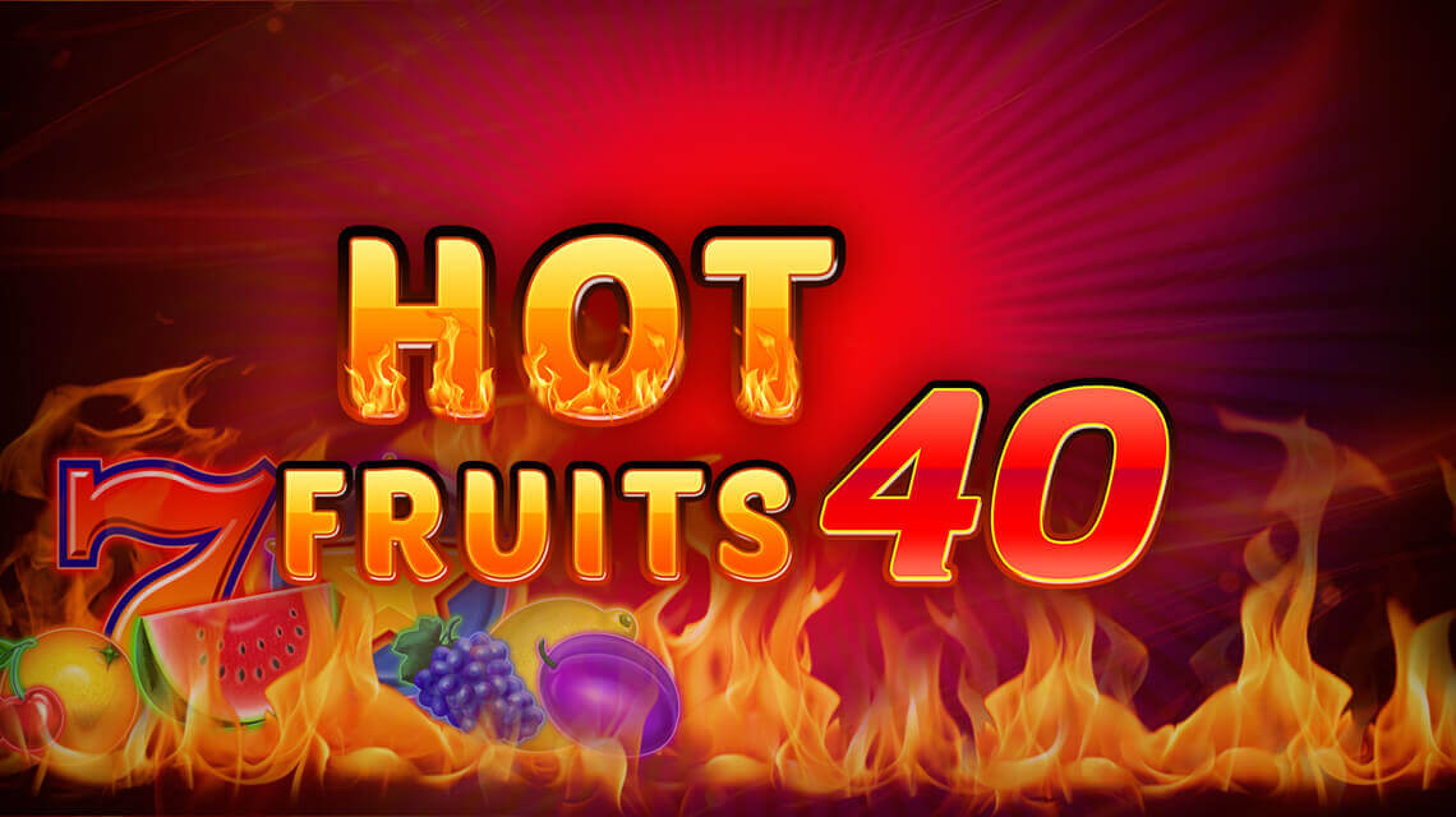 The Hot Fruits 40 Online Slot Demo Game by Amatic Industries