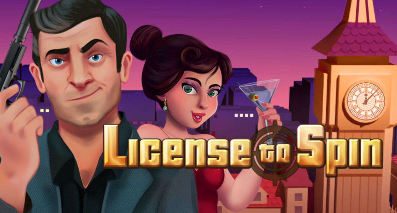 The License to Spin Online Slot Demo Game by Arrows Edge