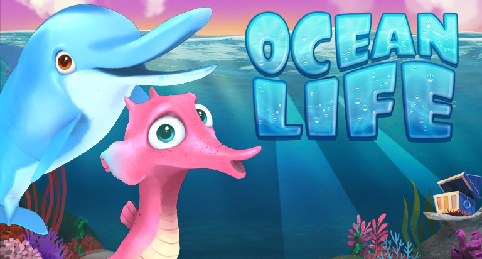 The Ocean Life Online Slot Demo Game by Arrows Edge