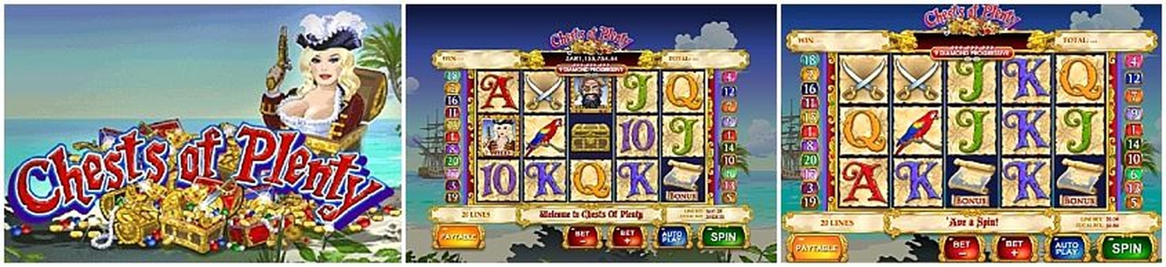 The Chests of Plenty Online Slot Demo Game by Ash Gaming