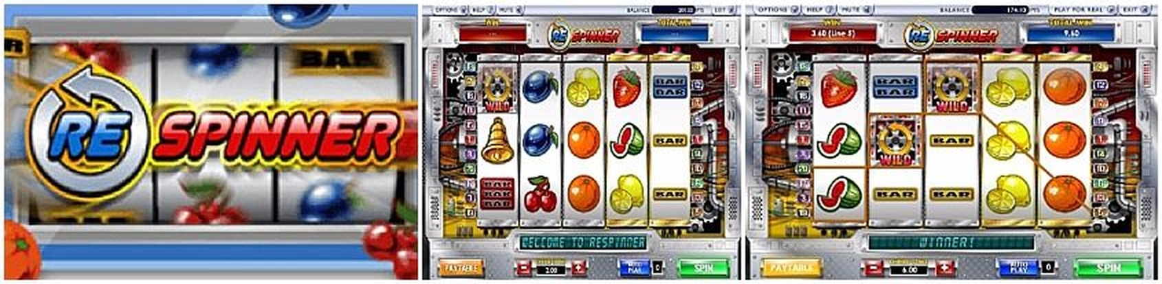 The Respinner Online Slot Demo Game by Ash Gaming