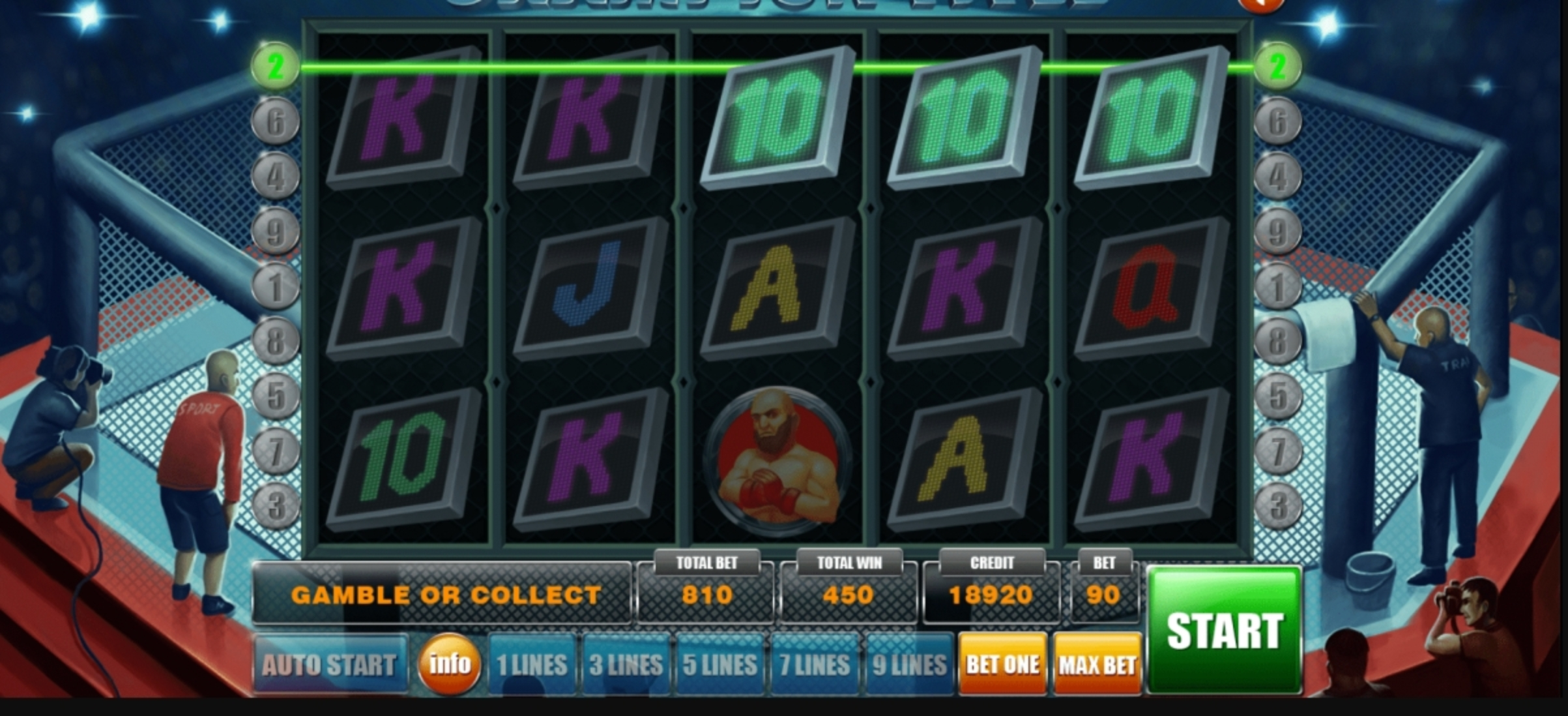 The Champion Title Online Slot Demo Game by Aspect Gaming