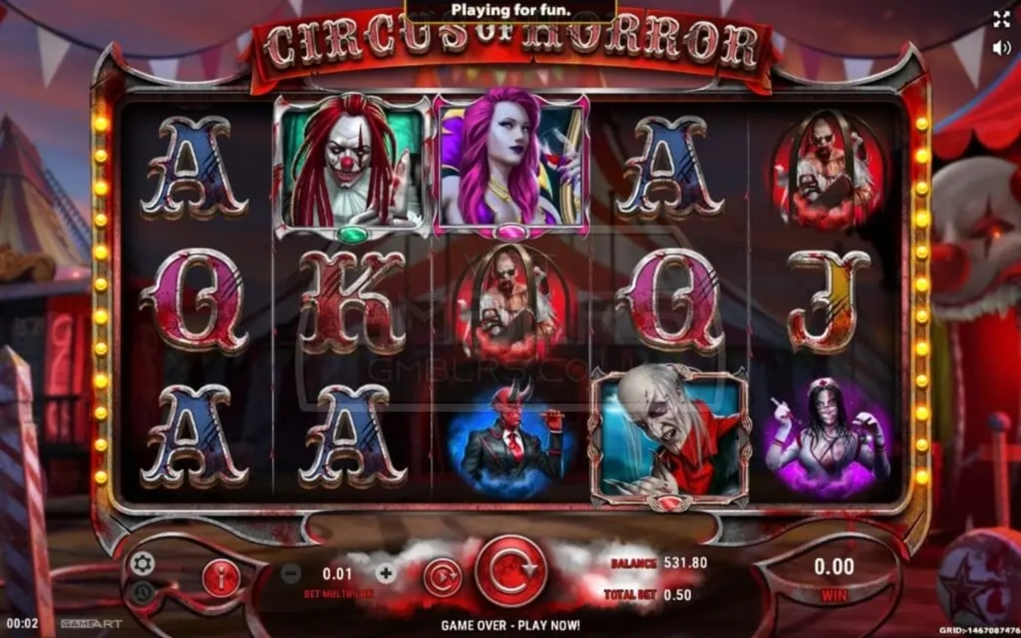 The Circus Show Online Slot Demo Game by Aspect Gaming