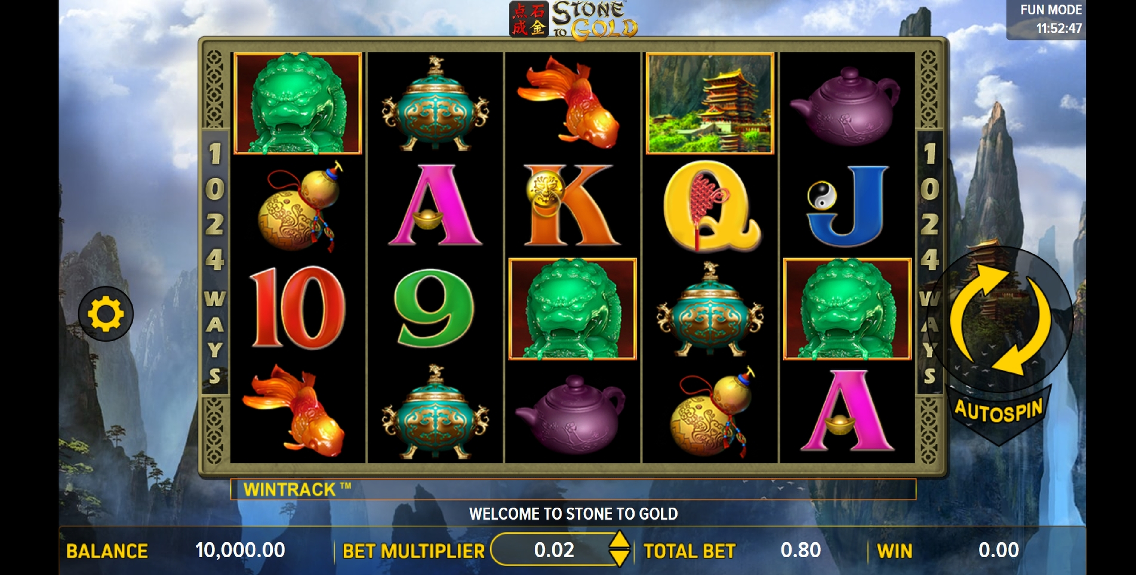 Reels in Stone to Gold Slot Game by Aspect Gaming