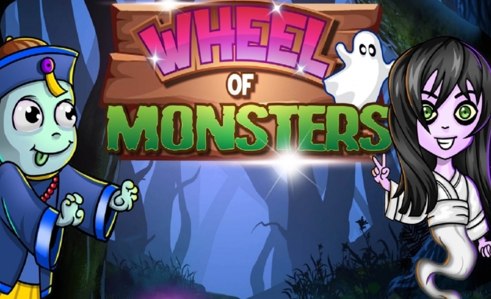 Reels in Wheel of Monsters Slot Game by Asylum Labs Inc.