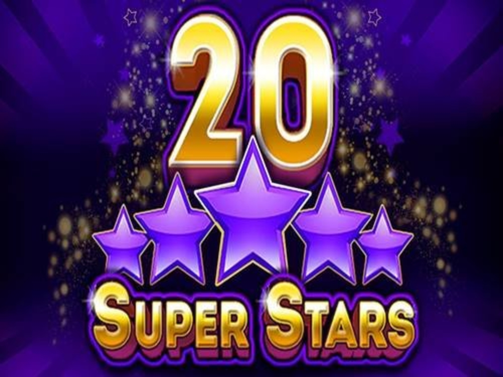 The 20 Super Stars Online Slot Demo Game by Belatra Games