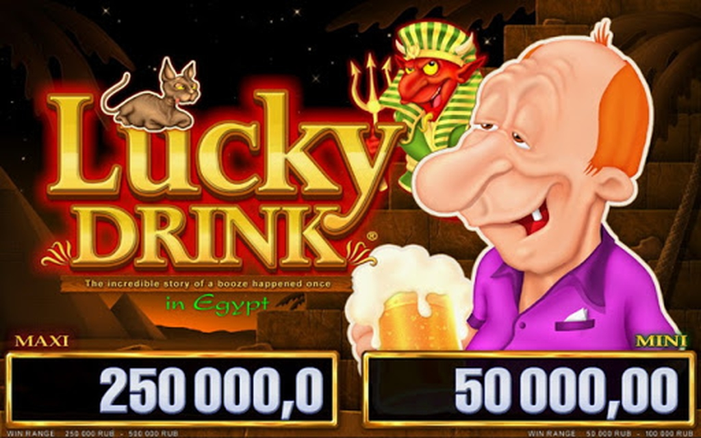 The Lucky Drink in Egypt Online Slot Demo Game by Belatra Games