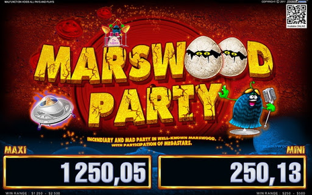 The Marswood Party 2 Online Slot Demo Game by Belatra Games