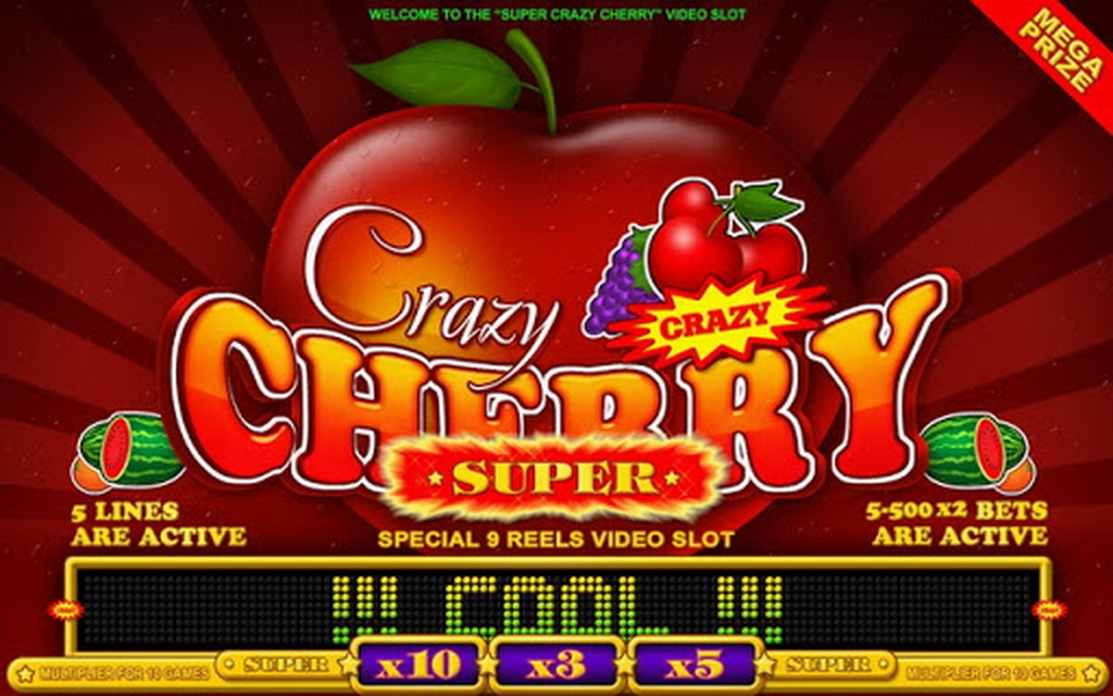 The Super Crazy Cherry Online Slot Demo Game by Belatra Games