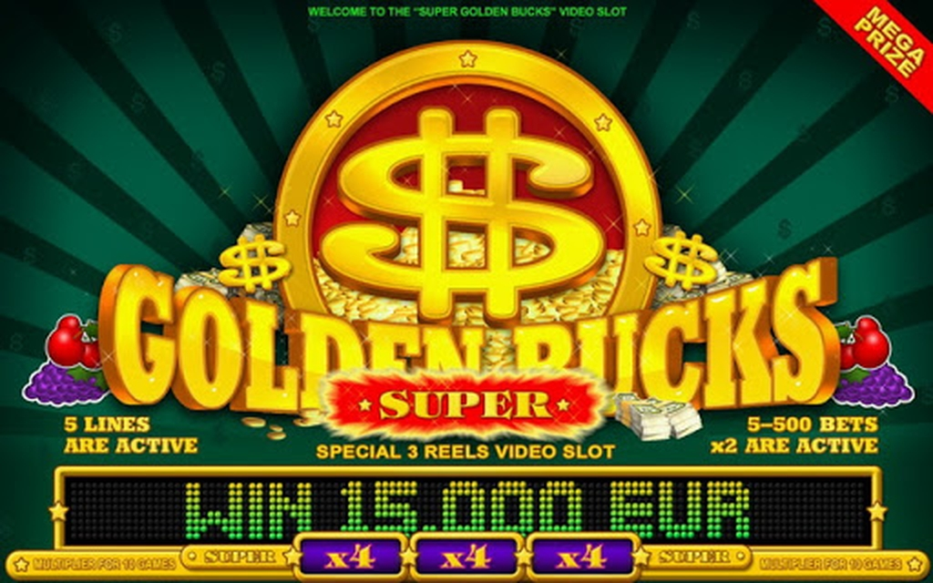 The Super Golden Bucks Online Slot Demo Game by Belatra Games