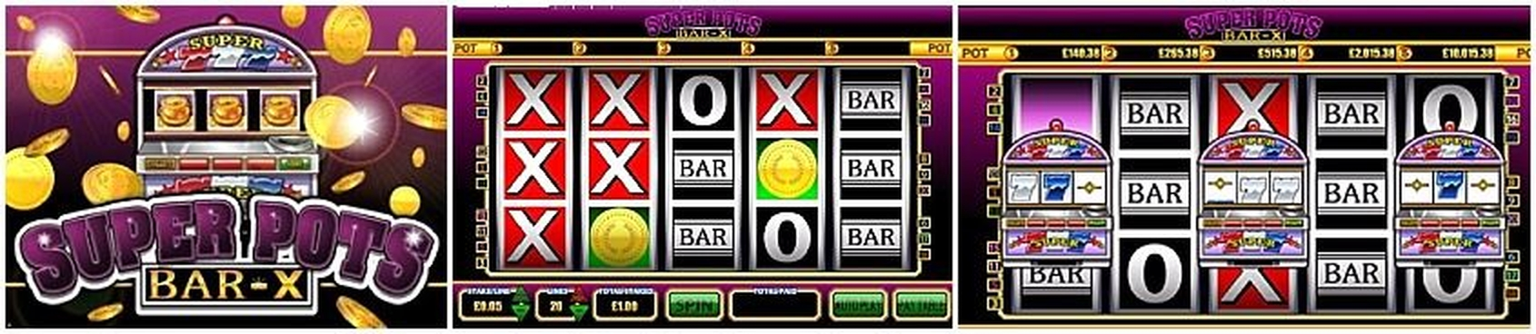 The Super Pots Bar-X Online Slot Demo Game by Betdigital