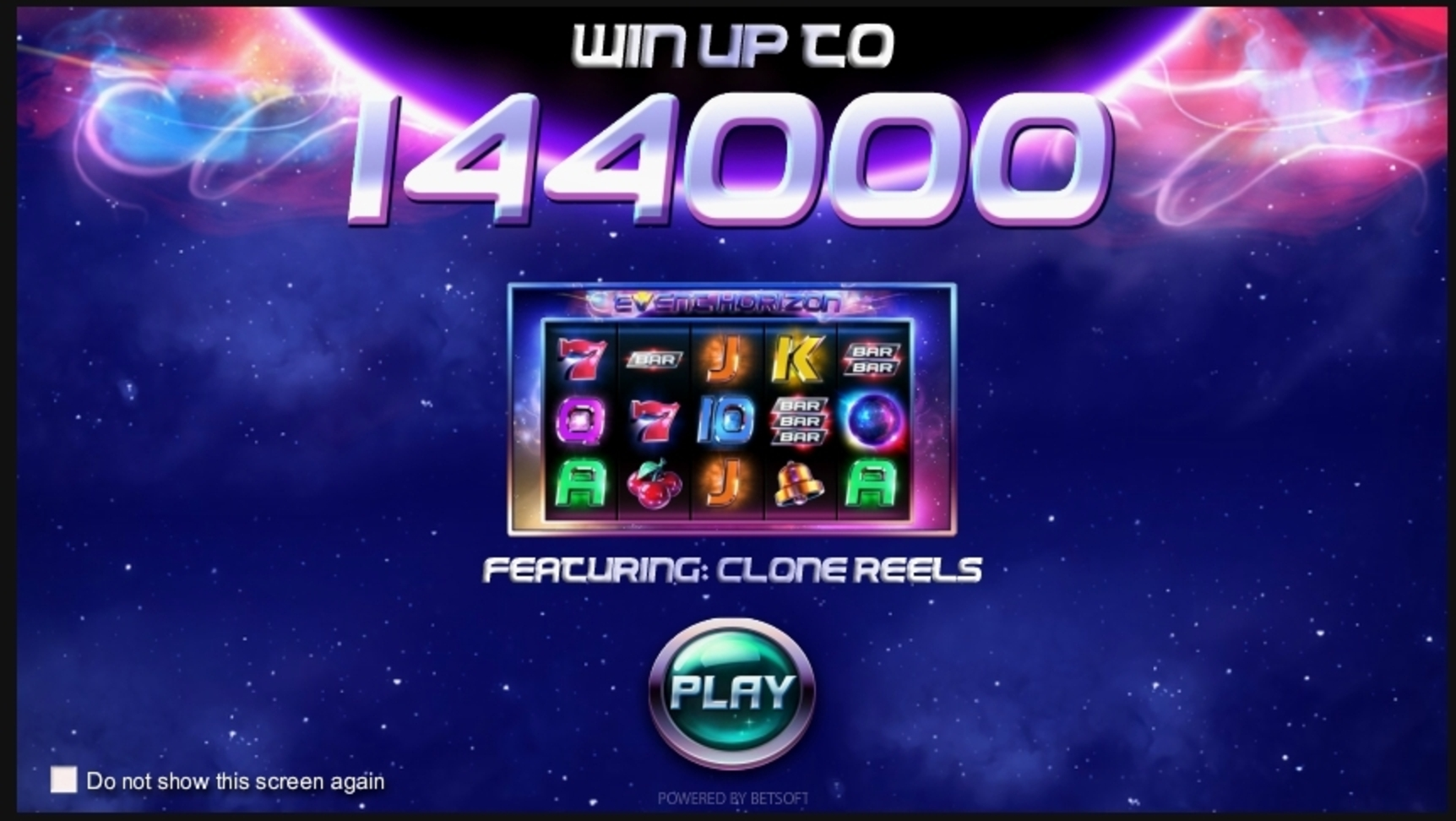 Play Event Horizon Free Casino Slot Game by Betsoft