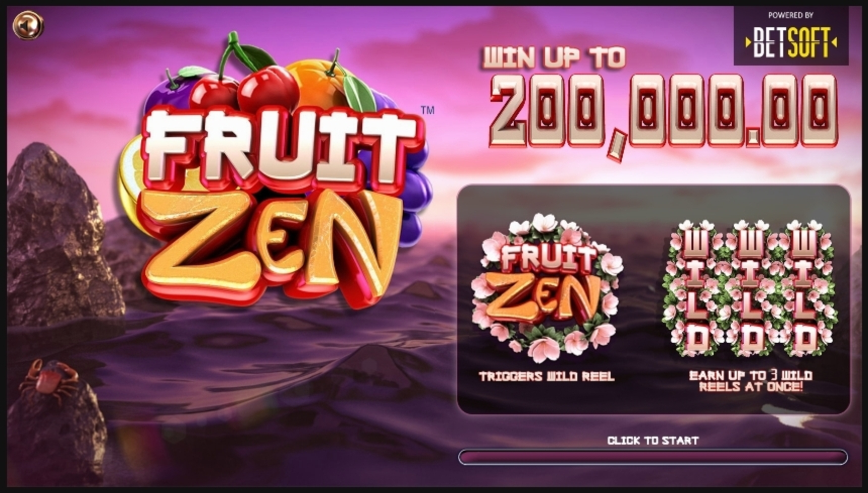 Play Fruit Zen Free Casino Slot Game by Betsoft