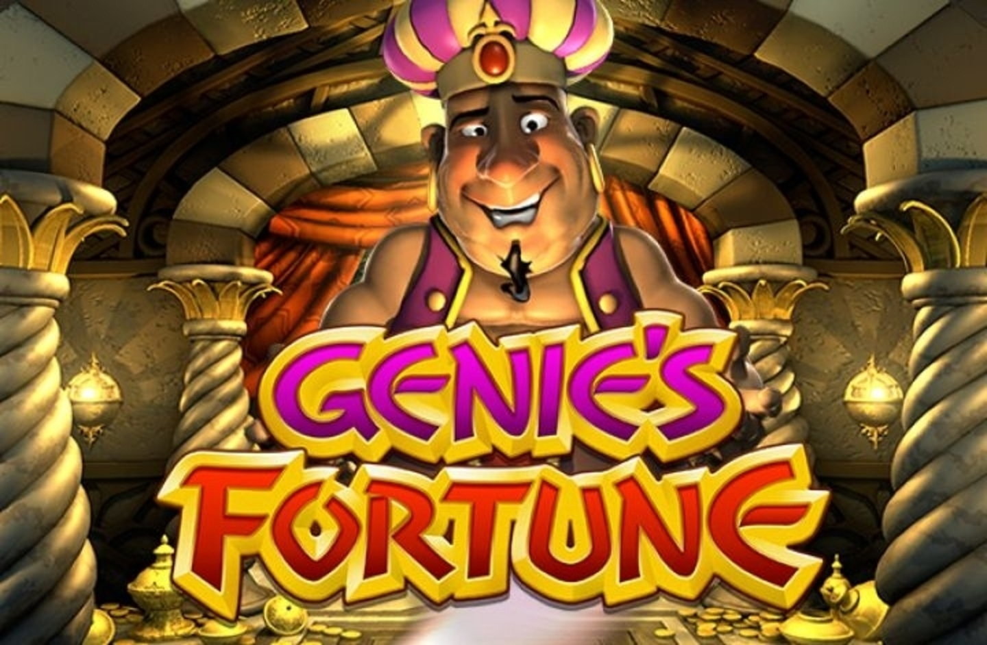 The Genie's Fortune Online Slot Demo Game by Betsoft