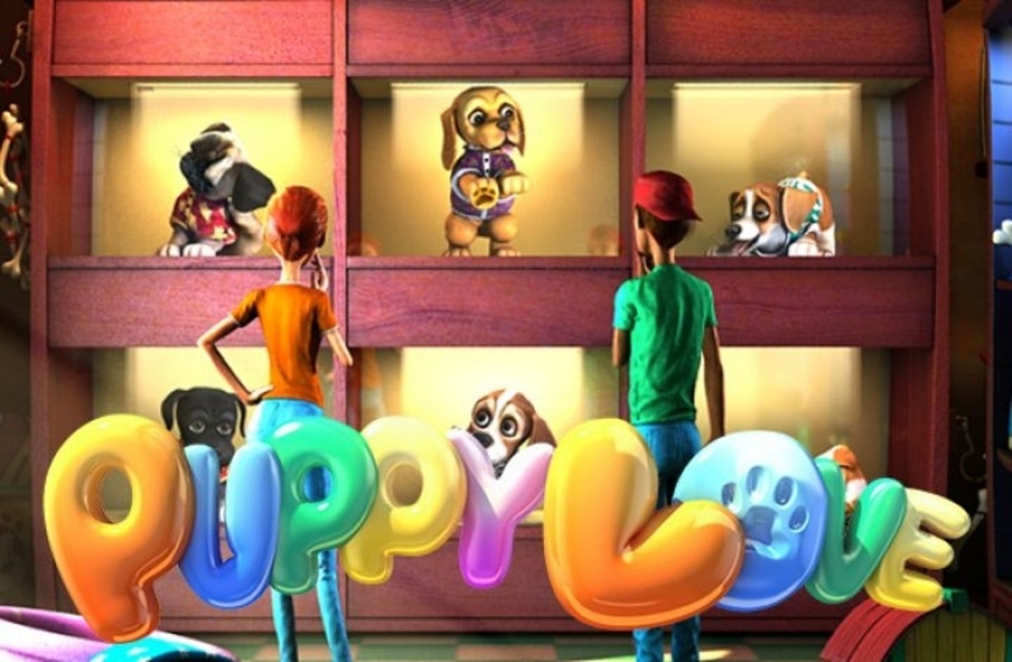 The Puppy Love Online Slot Demo Game by Betsoft