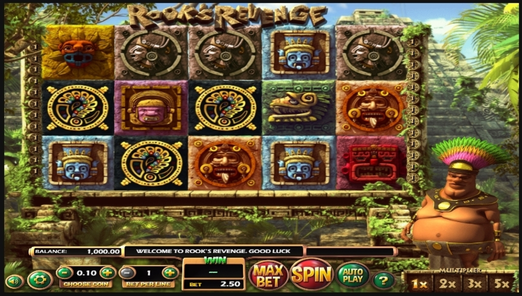 Reels in Rooks Revenge Slot Game by Betsoft