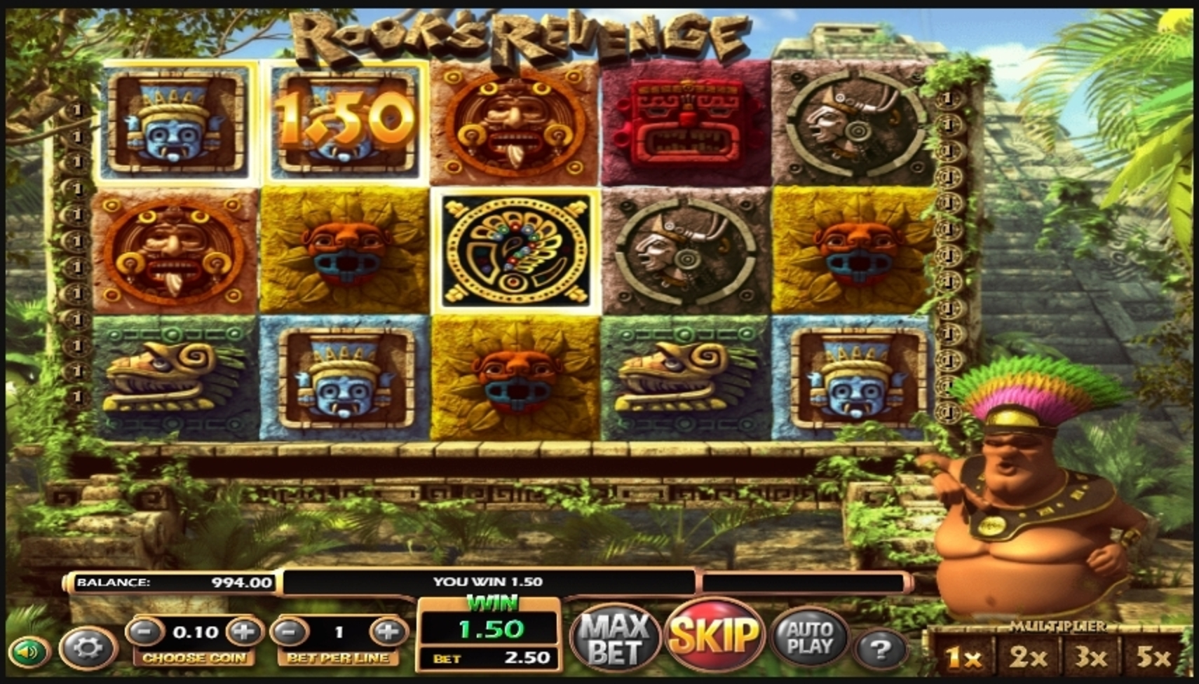 Win Money in Rooks Revenge Free Slot Game by Betsoft