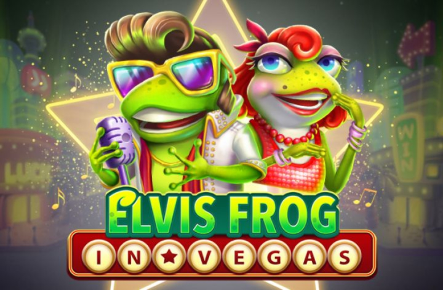 The Elvis Frog in Vegas Online Slot Demo Game by BGAMING