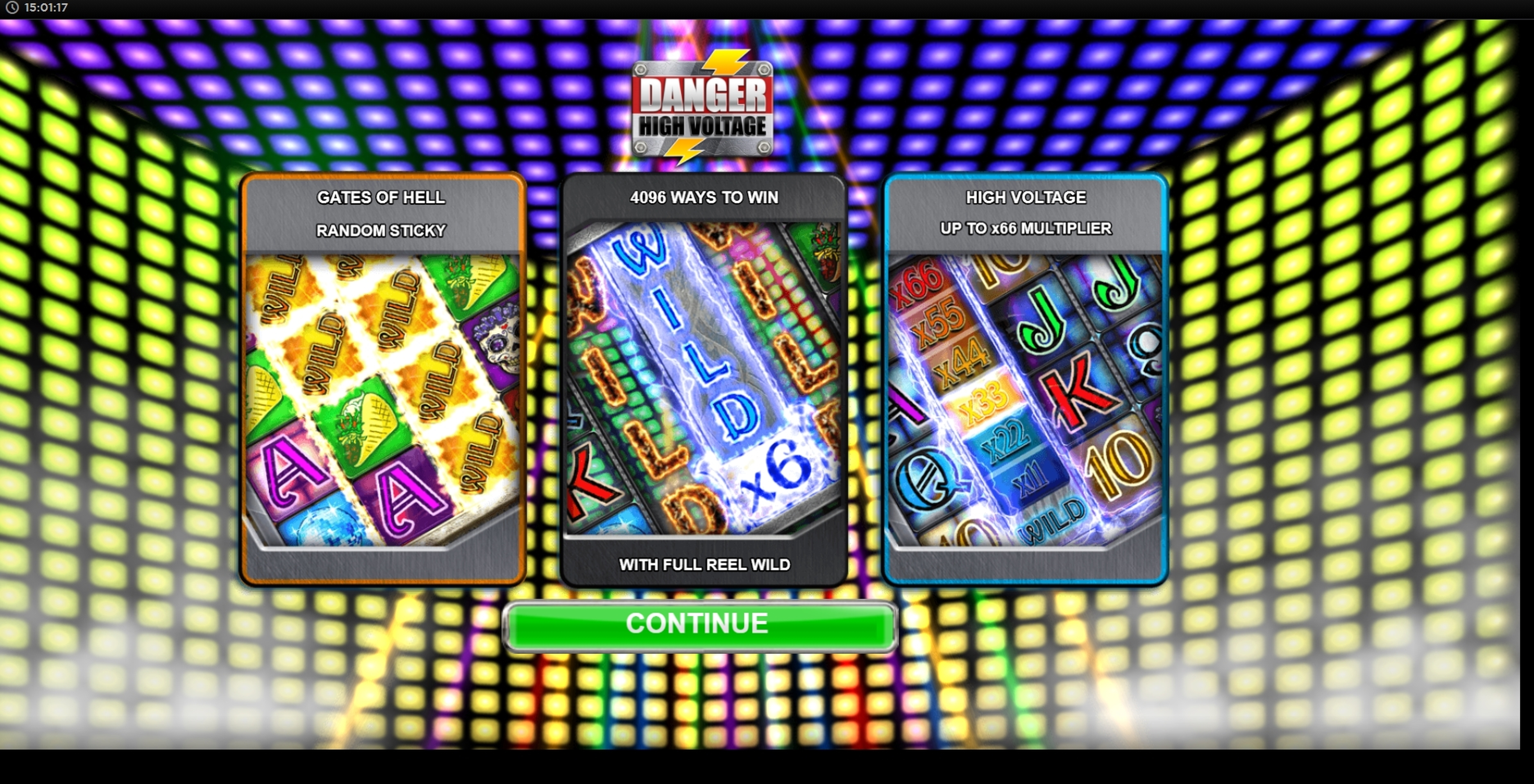 Play Danger High Voltage Free Casino Slot Game by Big Time Gaming
