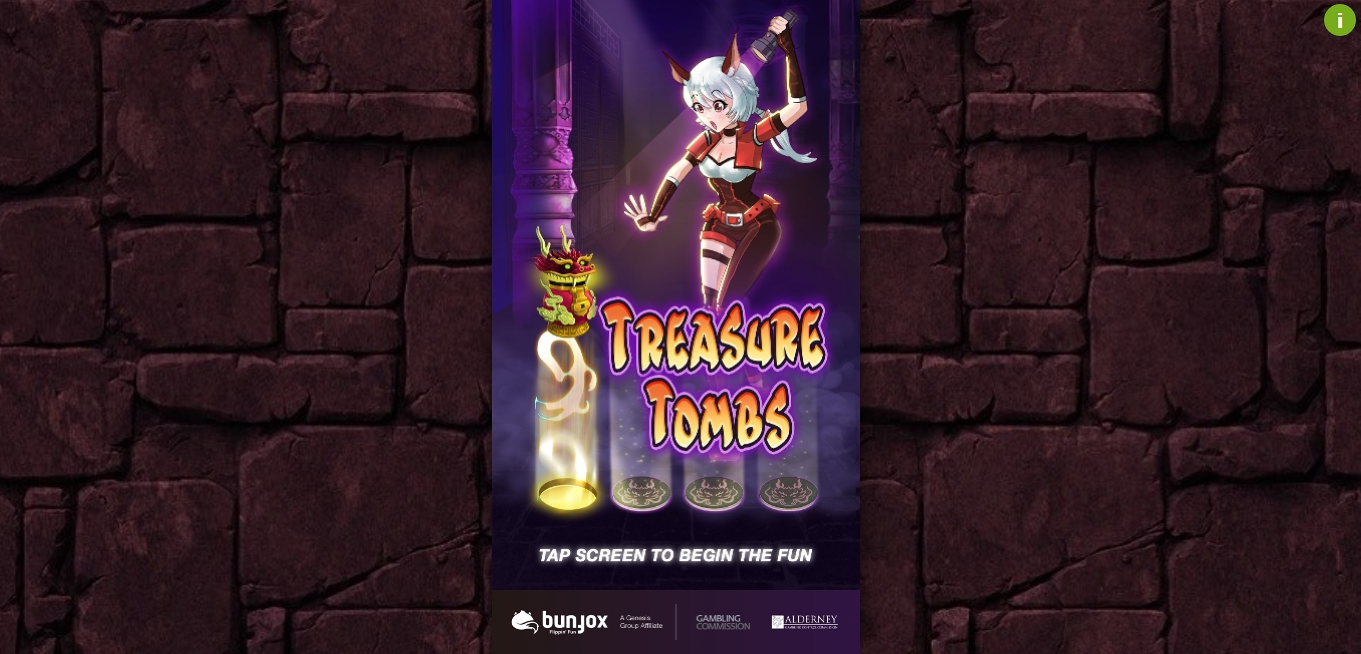 Play Treasure Tombs Free Casino Slot Game by Bunfox Games
